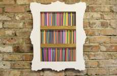 Picture Perfect Paper Frames - Etcetera Stationery Holder is Excessively Cute