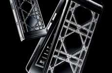 Dazzling Duo Designer Phones - The Diamante Dior Phones Will Cost You $13,400