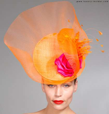 Rainbow Bright Headgear - The Philip Treacy 2010 Occasion Collection is Colorfully Dramatic