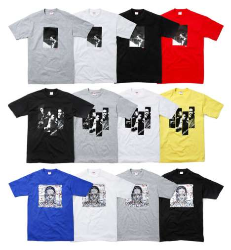 Jazz Legend Tees - Supreme Clothing and John Coltrane Foundation Team Up
