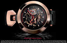 Hyper-Detailed Watches - Bovet Sportster Saguaro Tourbillon Watch has Distinct Visual Look