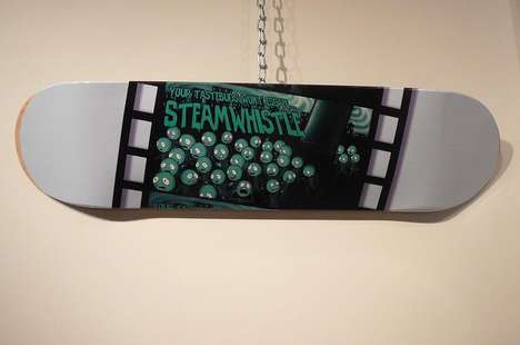 Beer-Branded Skate Decks - Steam Whistle's Stellar 'Design a Deck' Competition
