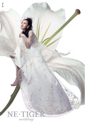 Fairytale Gowns - NE·TIGER Launches Gorgeous Wedding Dresses