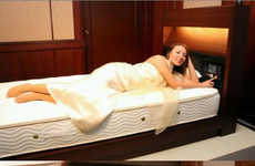 Atmosphere-Attuned Beds - The Panasonic Bed Controls the Environment for Perfect Slumber