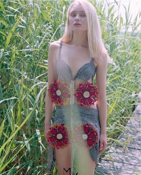 3D Doily Dresses