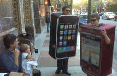 Smartphone Halloween Costumes - Will Android or iPhone Costumes be More Popular?
