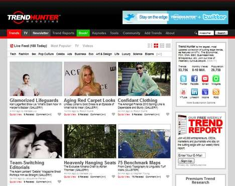 Trend Hunter Redesigned - More Awesome and Visual. Boom.