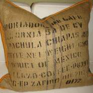 Coffee Sack Cushions