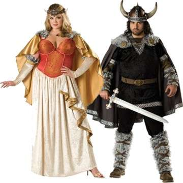 Plus-Size Couple Costumes