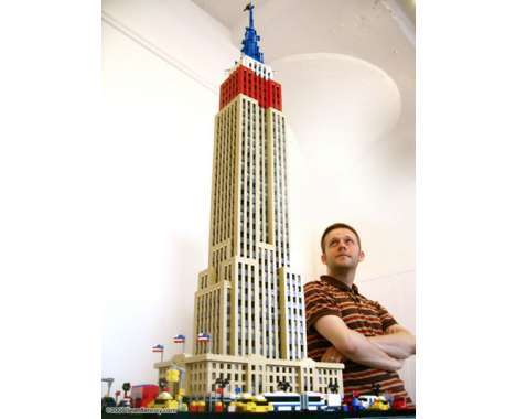 100 Crazy LEGO Constructs