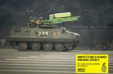 Water Gun Wars - Soldiers Armed With Super-Soakers in the Amnesty International Ad Campaign