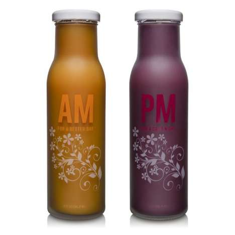 Dawn-to-Dark Drinks - The Aviara AM and PM Concoctions are Nutritious