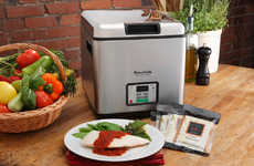Gourmet Meal Machines - The SousVide Supreme Cooker Allows for DIY Molecular Gastronomy