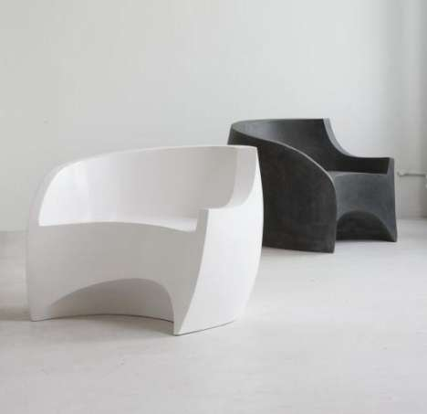 Sleek Sculptured Chairs