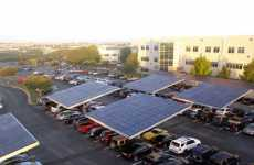 Shady Solar Parks - The Solar Grove Provides Energy for Dell Headquarters and Shade for Visitors