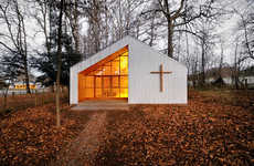 Rustic Woodland Churches