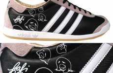 Girly Street Art Sneakers
