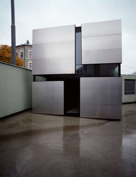Cubist Container Houses