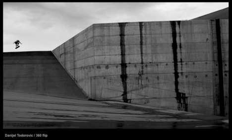 Urban Skateboarding Art