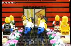 Stop-Motion Weddings - The LEGO Wedding Entrance Video is Spot-On Fantastic