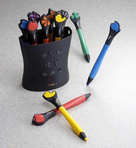 Tactile Teaching Pencils