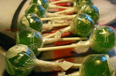 Crazy-Flavored Lollipops - Bourbon, Wasabi-Ginger and Real Coffee Sweet Treats