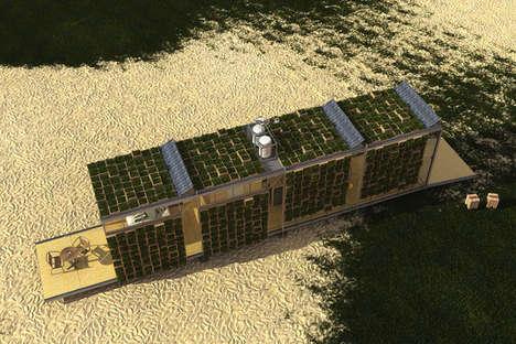 Portable Green Housing