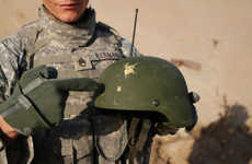 Combat Helmet Radar - The Moving Target Indicator Will Warn Soldiers of Danger