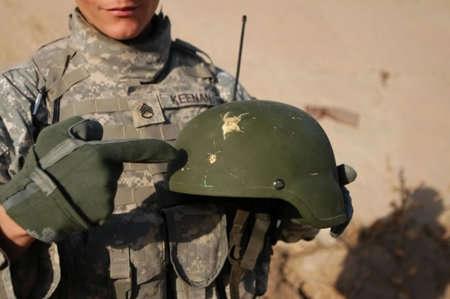 Combat Helmet Radar