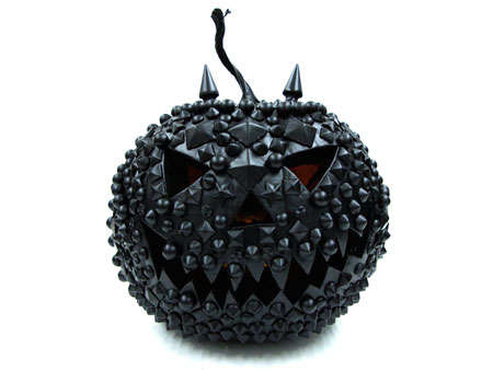 DIY Studded Pumpkins - Eddie Borgo Puts Signature Look on Halloween Staple