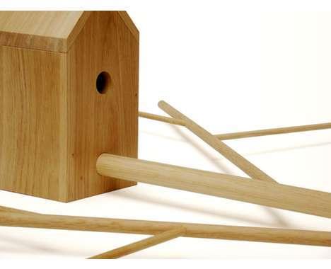 11 Bizarre Birdhouses