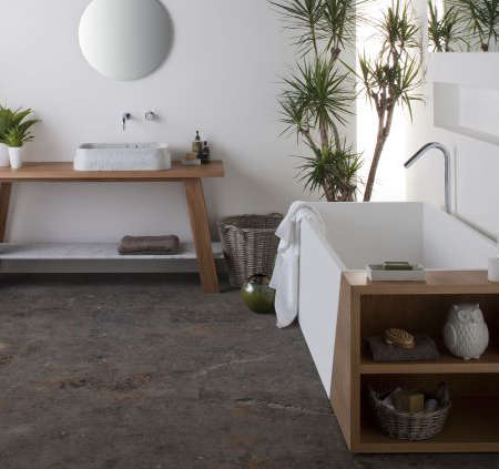 Minimalist Oasis Bathrooms