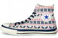 Christmas Sweater Chucks