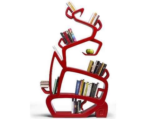 22 Bookworm Bookshelves
