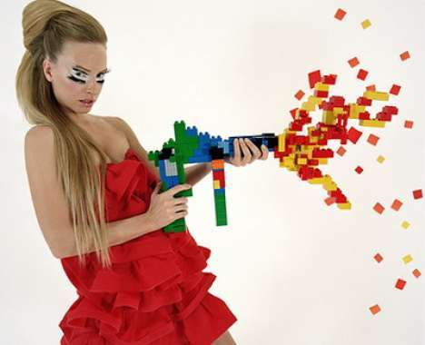 14 Fashionable LEGO Pieces