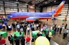 Ecofurbishing Aircraft - Southwest Airlines' 'Green Plane' Environmentally-Friendly Prototype