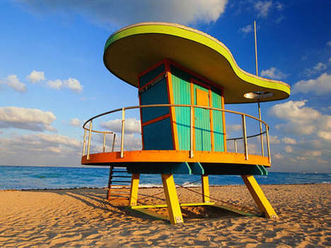 Trippy Lifeguard Towers