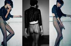 Sheer Leggings as Outerwear - 'The Neo Blitz Kids' in 160G Magazine Show off Fresh Punk Fashion