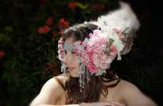 Vegas-Ready Hair Accessories - Custom-Made Liaison Headbands Turn You into a Showgirl