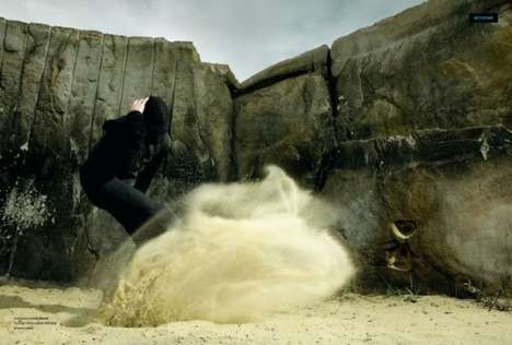 Sand-Kicking Photo Shoots