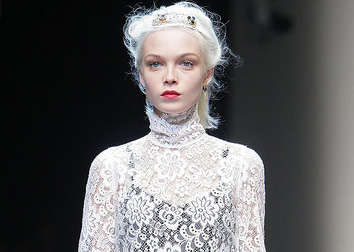 Ivory Filigree Fashion