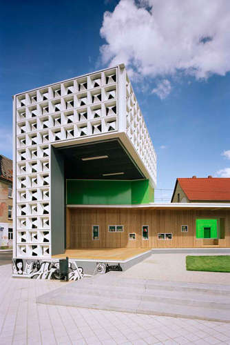 The 24 Hour Library and Community Space in Magdeburg, Germany