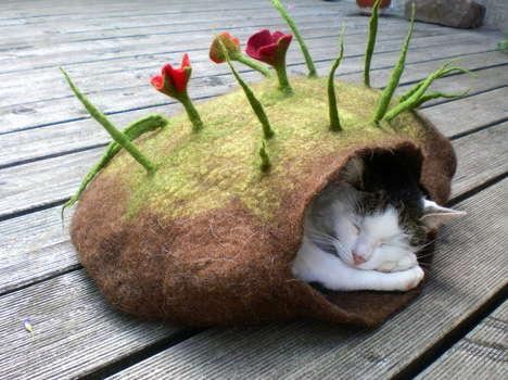 Handmade Cat Dens