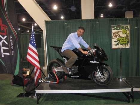 Sleek Electric Superbikes