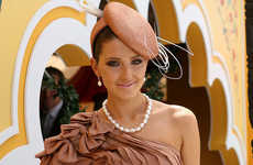 Spunky Embellished Heads - Inspiring Hats in Emirates Melbourne Cup Day 2009 Carnival
