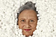 Styrofoam Packed Seniors - The Comune di Siena Ads Fail to Create Respect for the Elderly