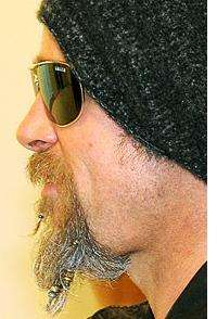 Bedazzled Facial Hair