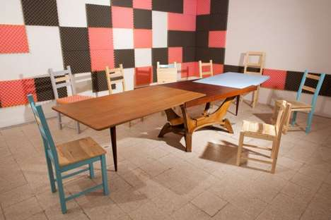 Eclectic Meeting Tables