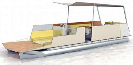 Floating Living Spaces