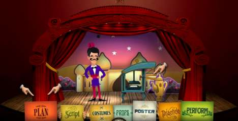Online Pantomime Planning - 'Plan a Panto' Website Turns Children into Panto Directors